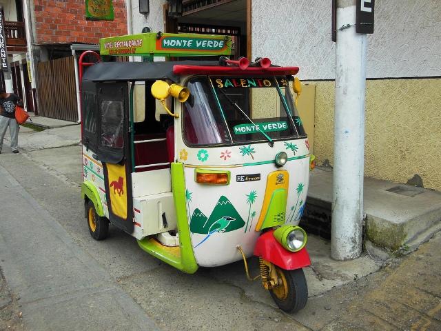 Transport in Zuid Amerika: slechts heel af en toe een tuktuk!