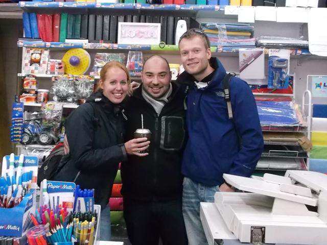 Met Ale in zijn boekhandel!