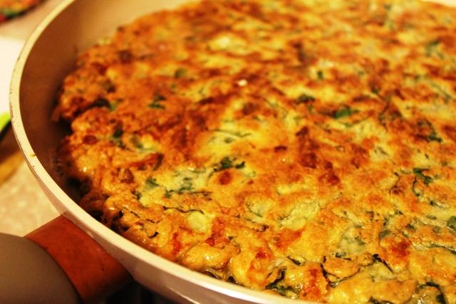 Herbal House Slovenie: Culinary workshop: Herbal Omelet