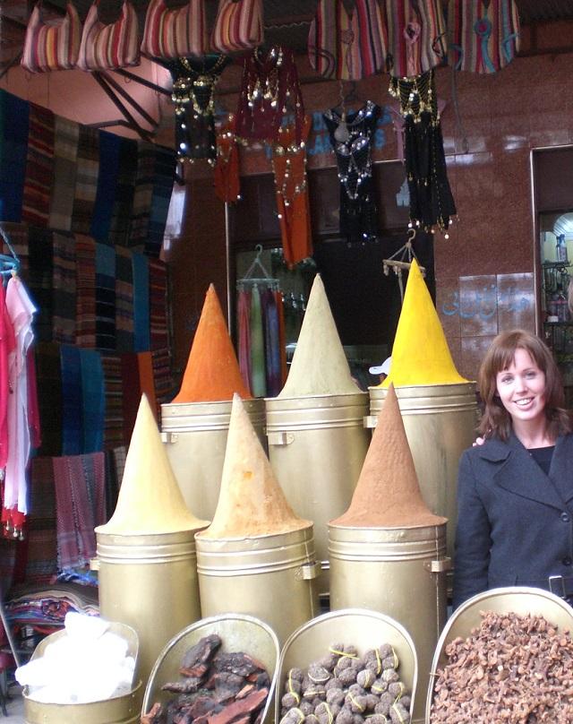 Kruiden in de Marokkaanse medina