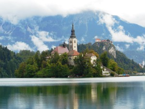 Sprookjesachtig Lake Bled, Slovenie