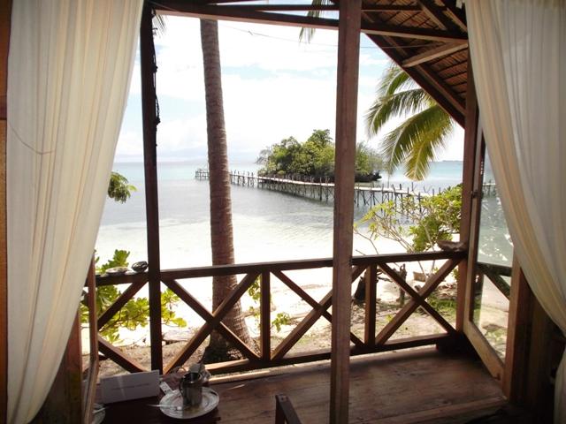 Island Retreat op Bomba, met het allerbeste eten van de Togians!