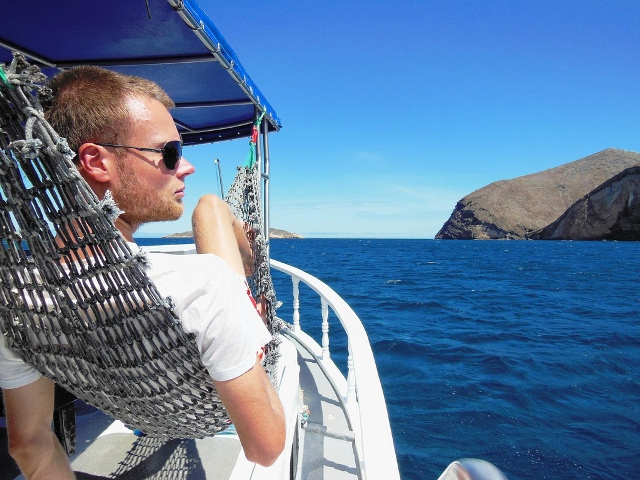 Transport op de Galapagos-eilanden: met de boot!