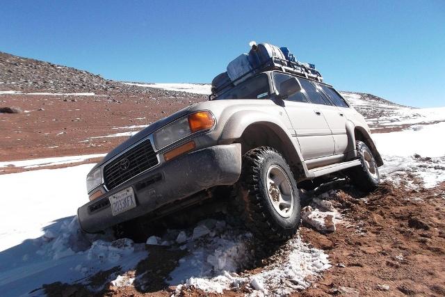 Transport in Zuid Amerika: met de 4WD door Bolivia!