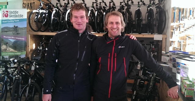 John & Andrew from The Cycle Hub