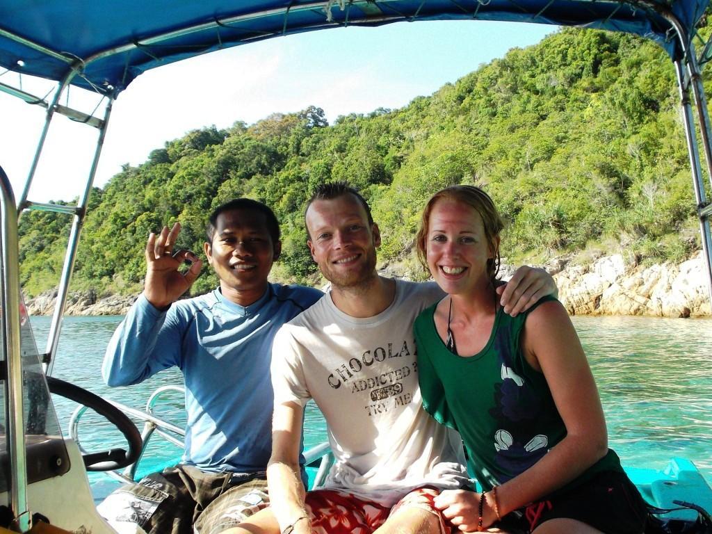 Snorkelen - uiteraard met Jeffrey