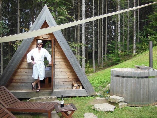 Glamping at Camping Bled, Slovenie