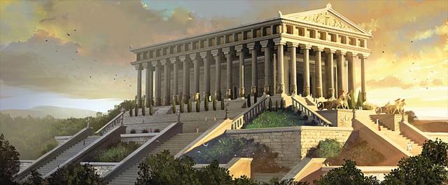 De Tempel van Artemis, Turkije