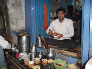 Blue Lassi Shop, Varanasi - India
