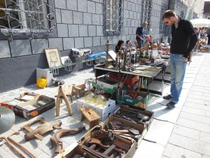 Flea Market, Radovljica (Slovenie)