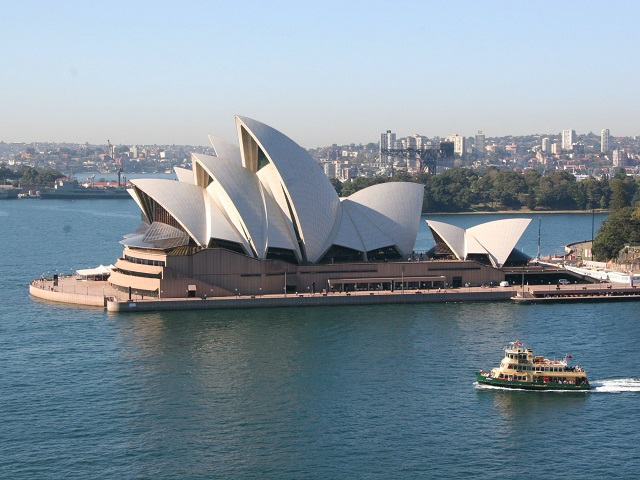 Het beroemde Opera House