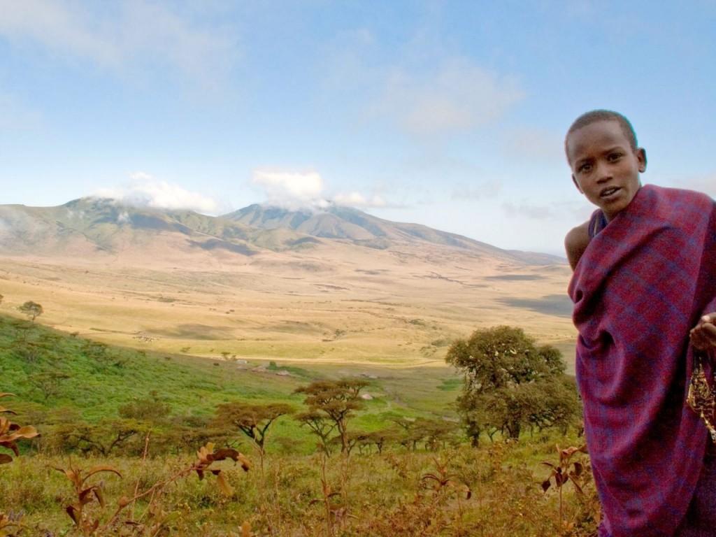 Tanzania-masai-dorp