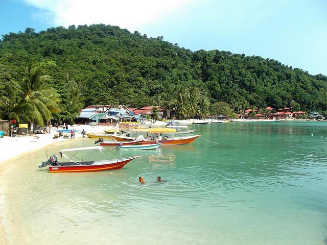 Perhentian islands Maleisie Pulau Kecil