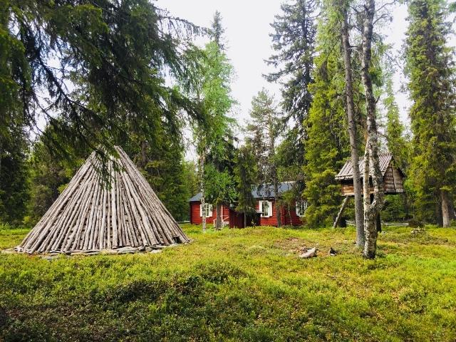 Lapland_Sami huizen
