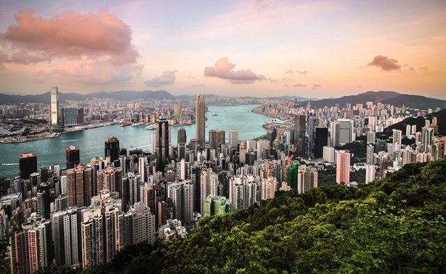 Victoria peak, Hongkong (China)