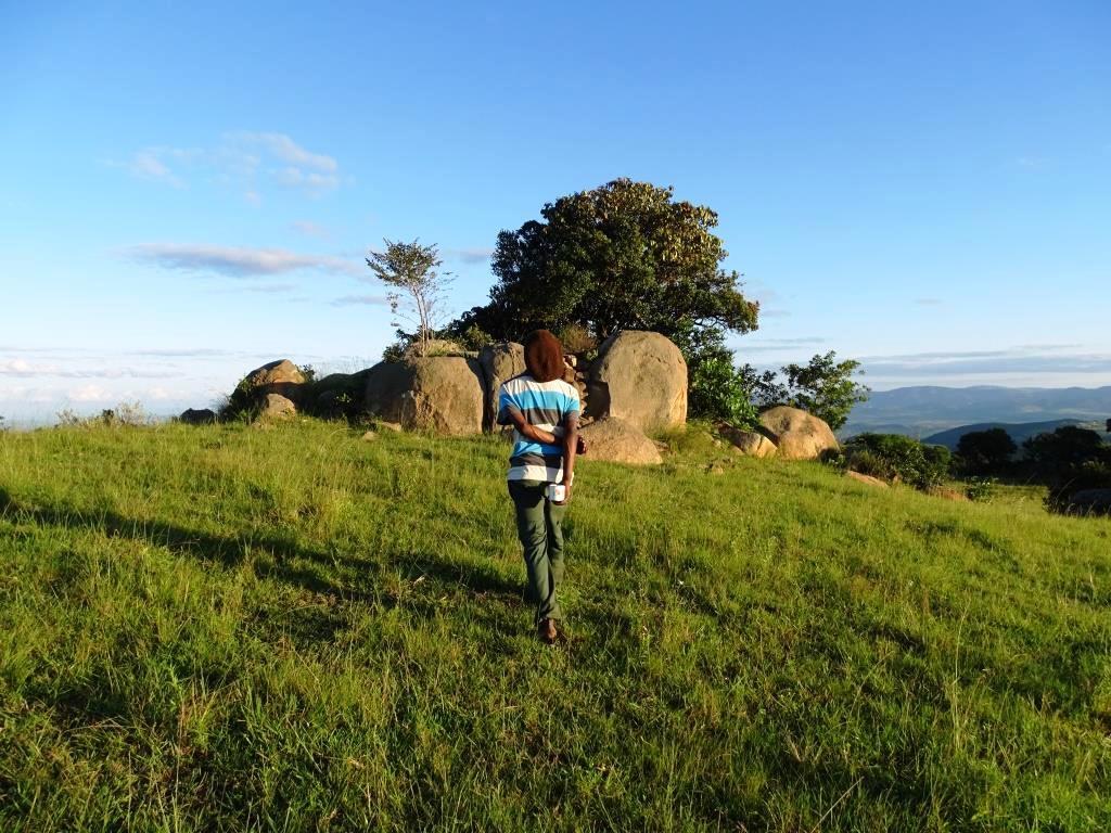 Wandelen met Bobo tijdens onze Swaziland Homestay