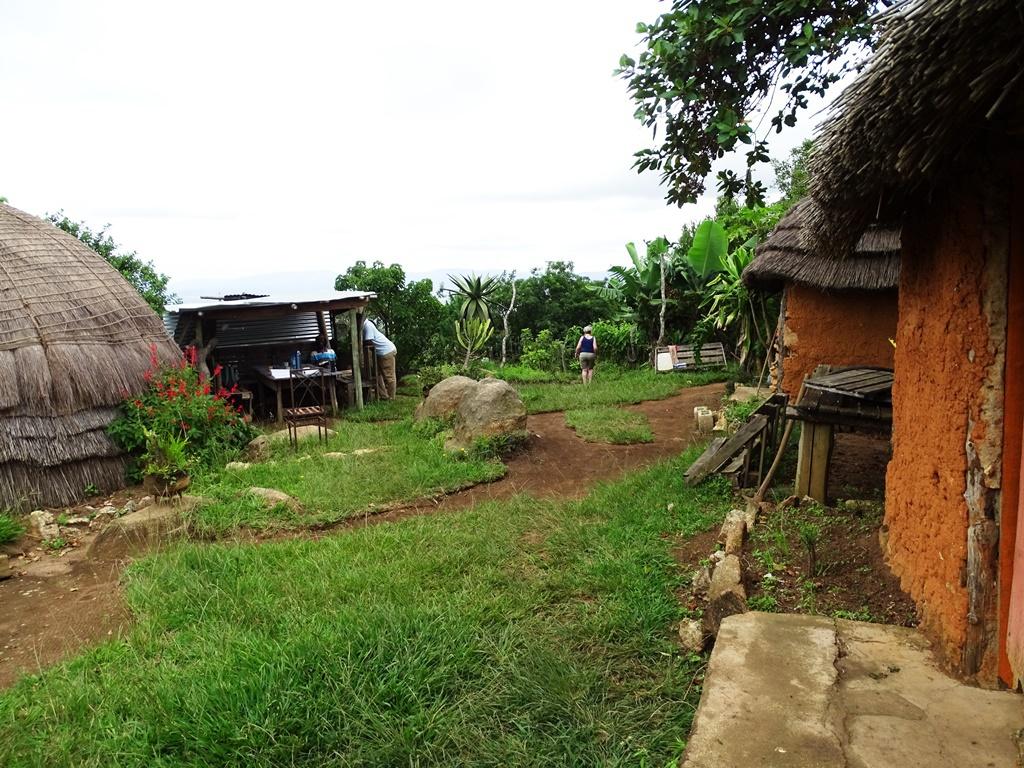 Homestay Swaziland leven in de natuur en slapen in beehive hutten