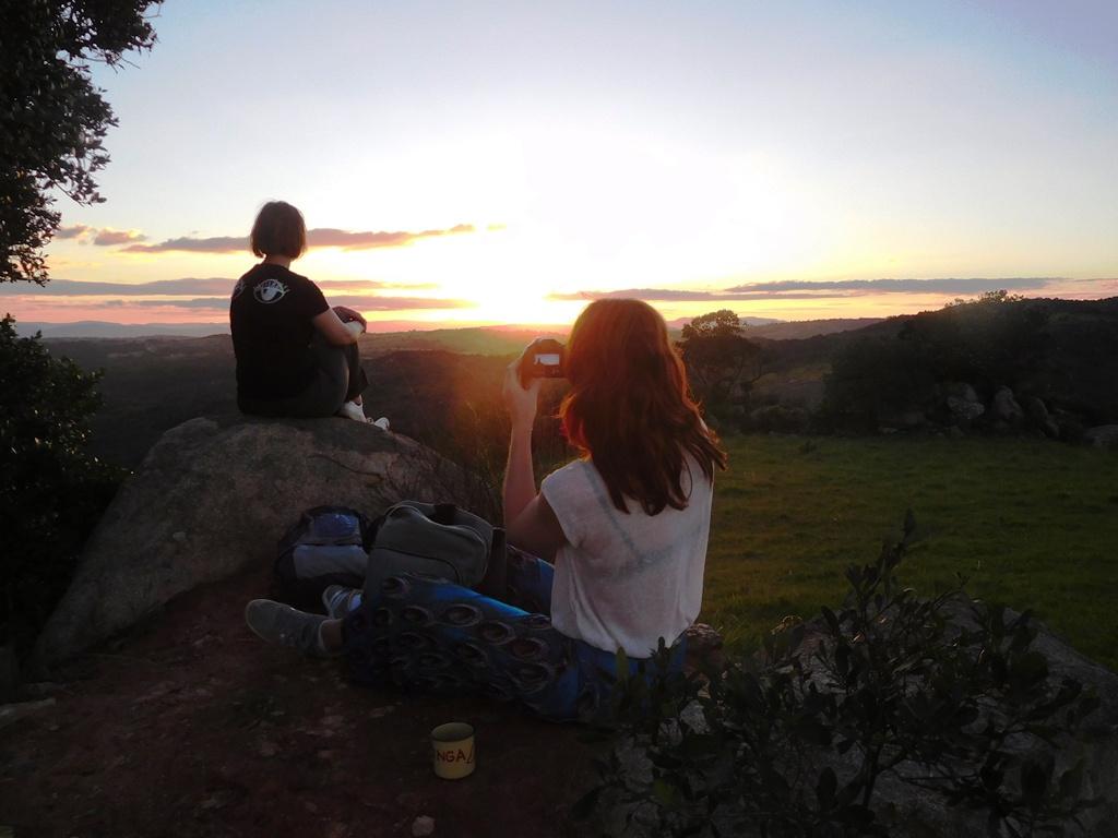 Homestay Swaziland zonsondergang dorpje Kaphunga