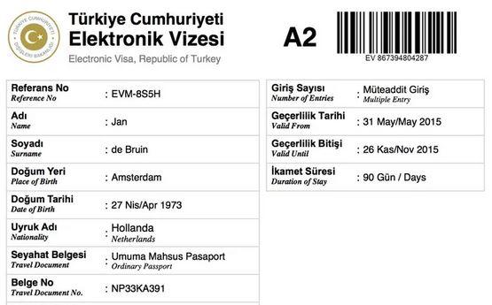 Visum Turkije aanvragen bij e-visums