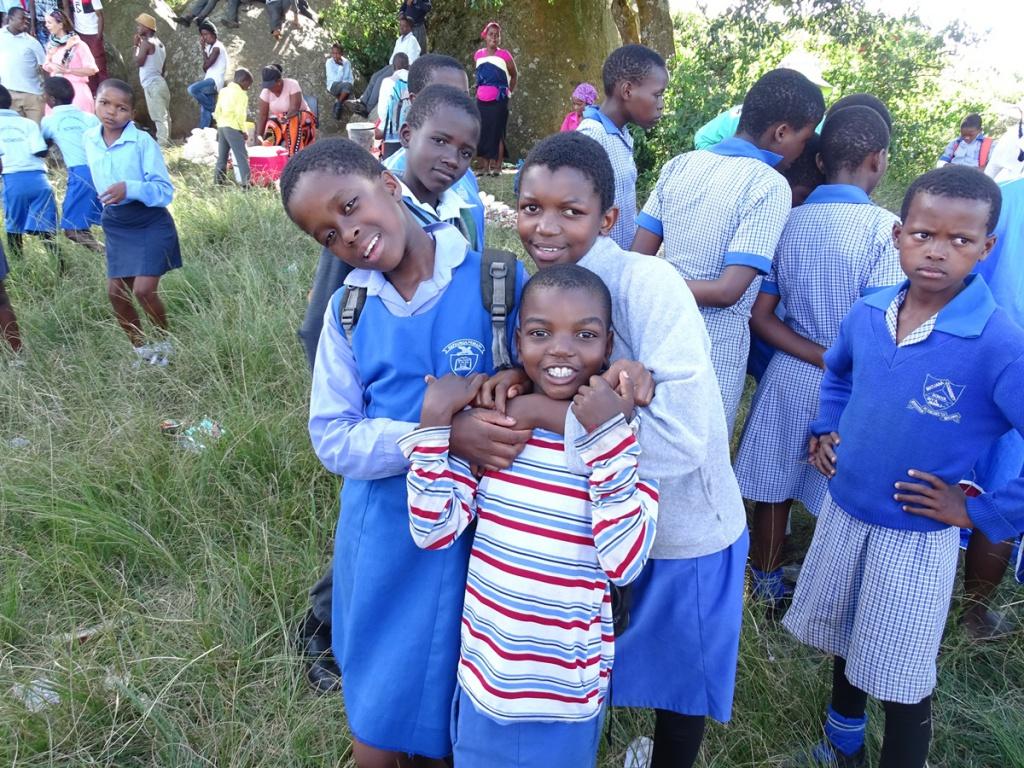Zuid-Afrika Swaziland lokaal reizen schoolkinderen