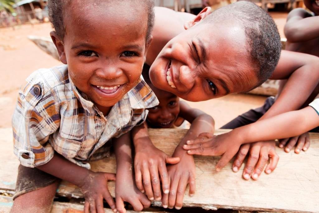 Kids op Madagaskar