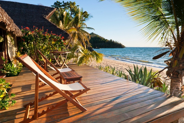 Tropische stranden op Madagaskar