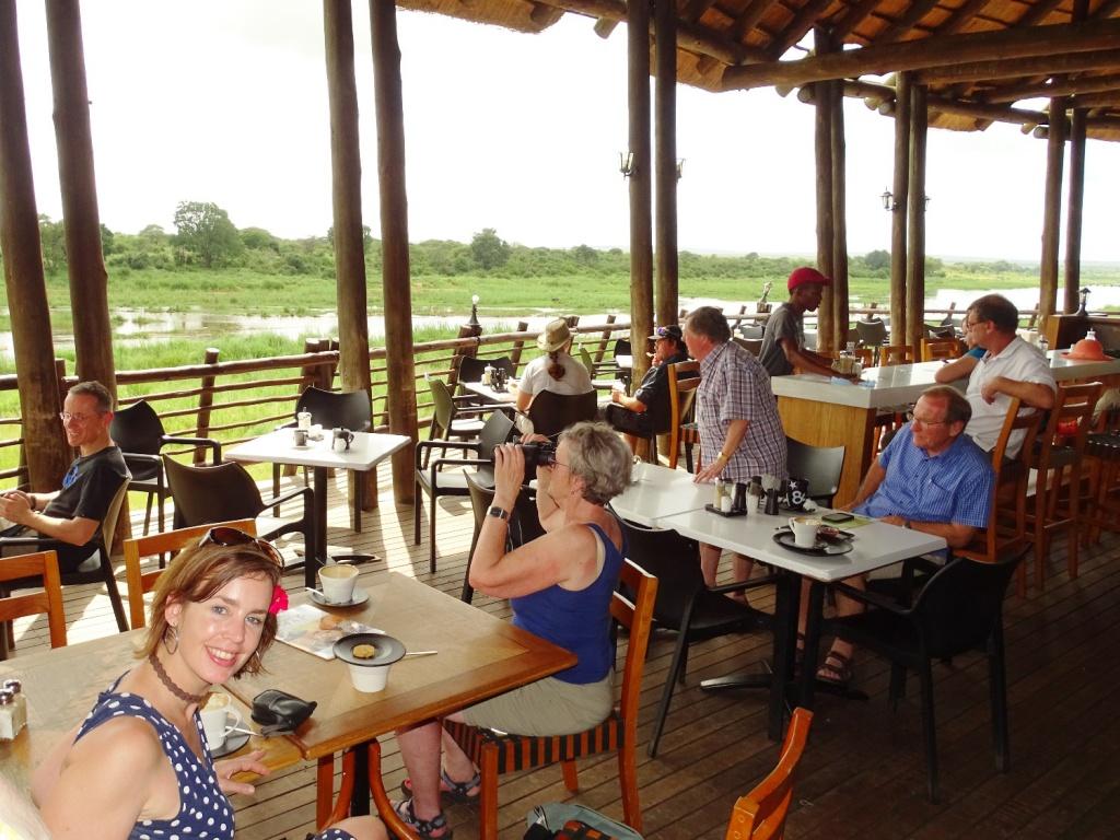 Krugerpark Zuid-Afrika: lunchen
