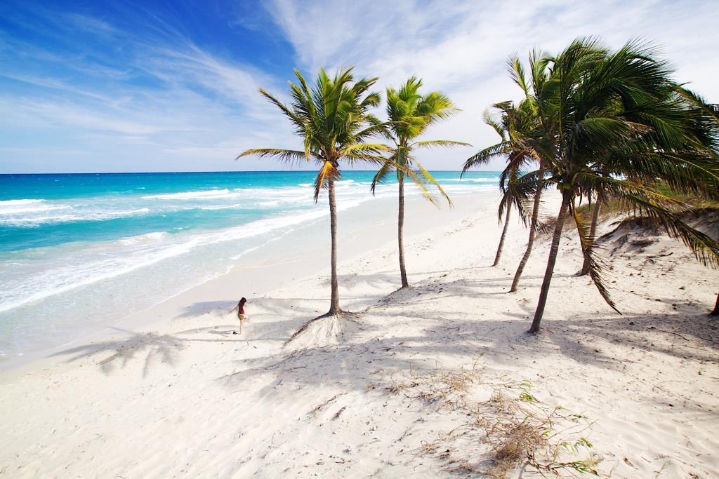 Het bounty strand van Varadero, Cuba
