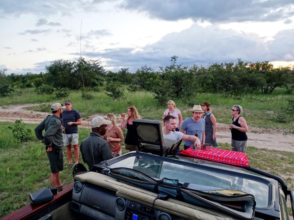 Sundowner @ Timbavati Game Reserve, Zuid-Afrika