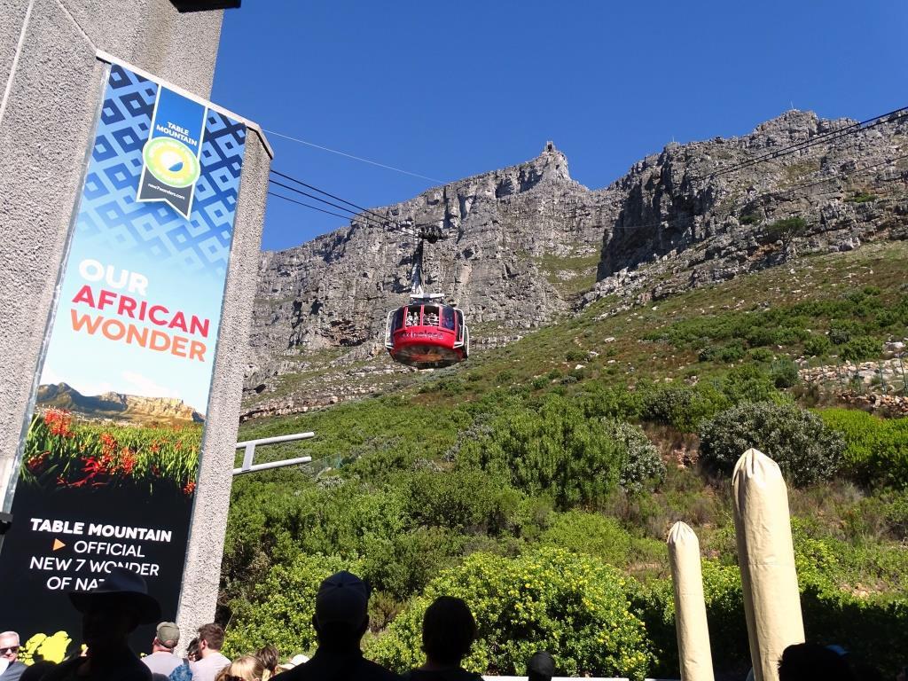 Kabelbaan naar de Tafelberg in Kaapstad (Zuid-Afrika tip!)