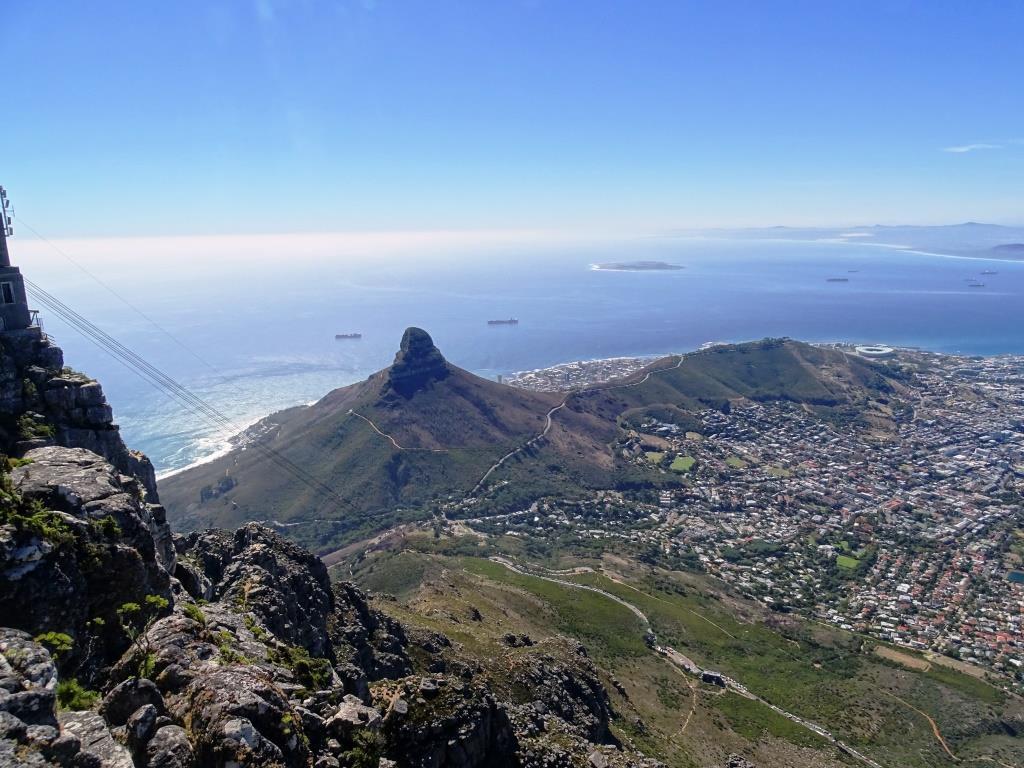 Uitzicht vanaf de Tafelberg in Kaapstad (Zuid-Afrika tip!)