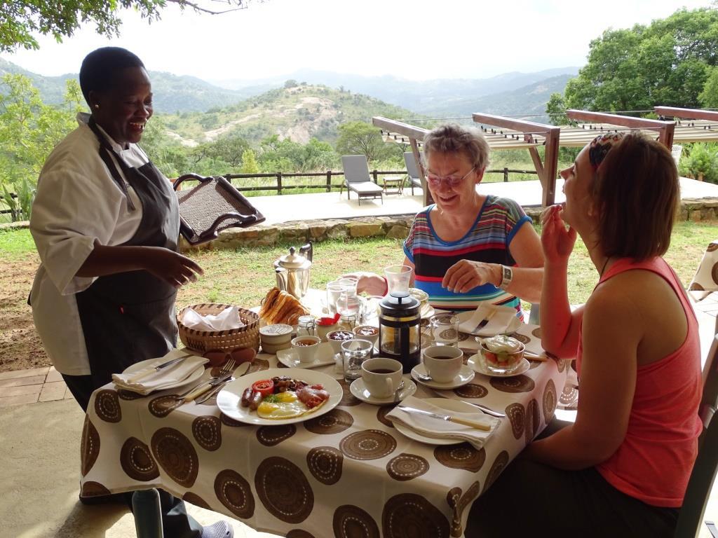 Lekker ontbijten bij Tomjachu Bush Retreat in Nelspruit (Zuid-Afrika rondreis tip!)