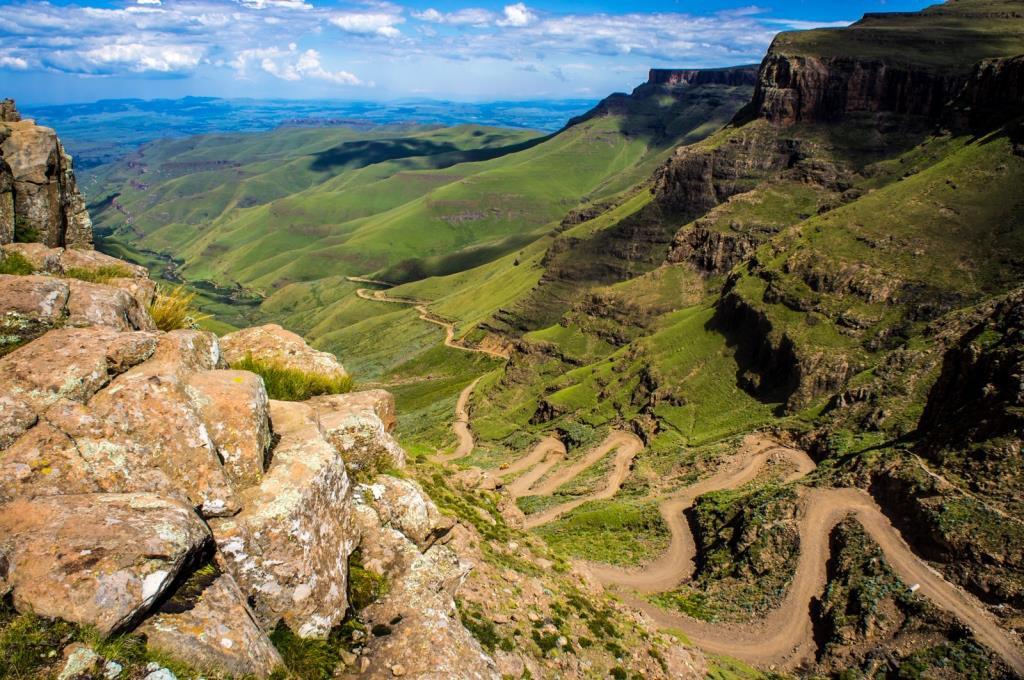 Sani Pass, Zuid-Drakensbergen (Zuid-Afrika rondreis tip!)