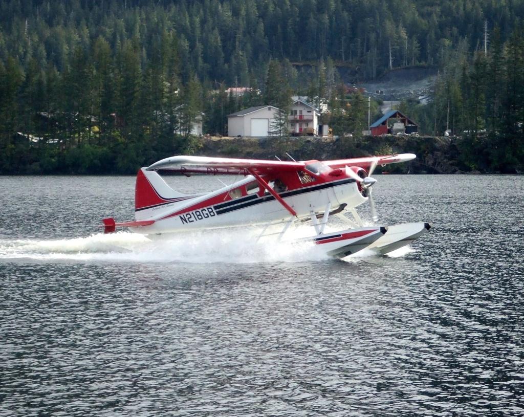 Alaska cruise tip: vlieg naar de gletsjers met een watervliegtuig (float plane)